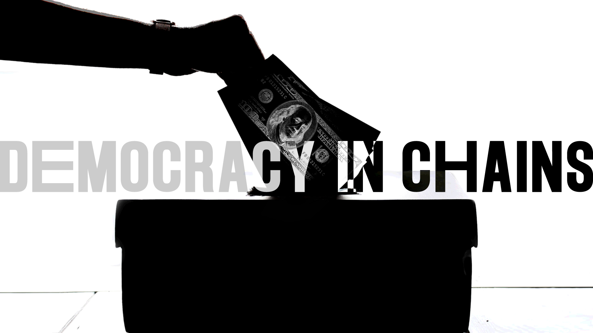 Democracy conceptual graphic