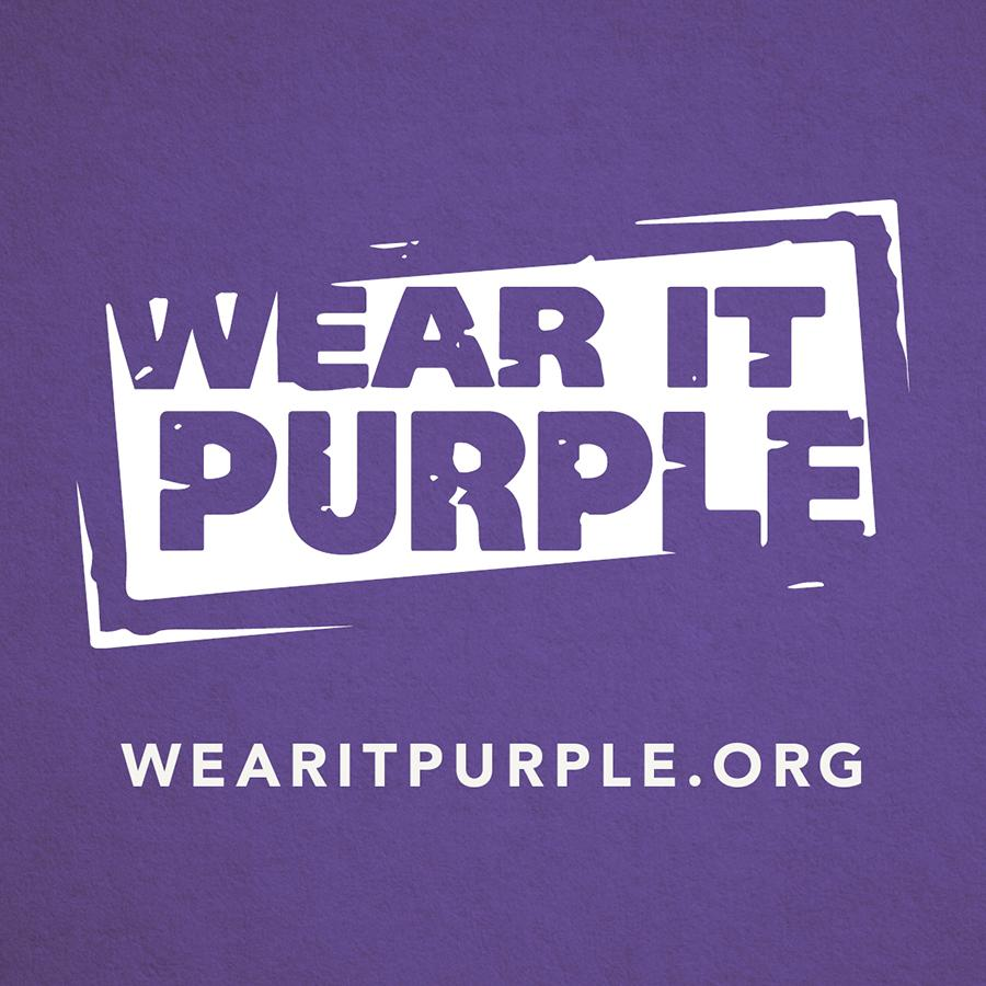 Wear it purple signae