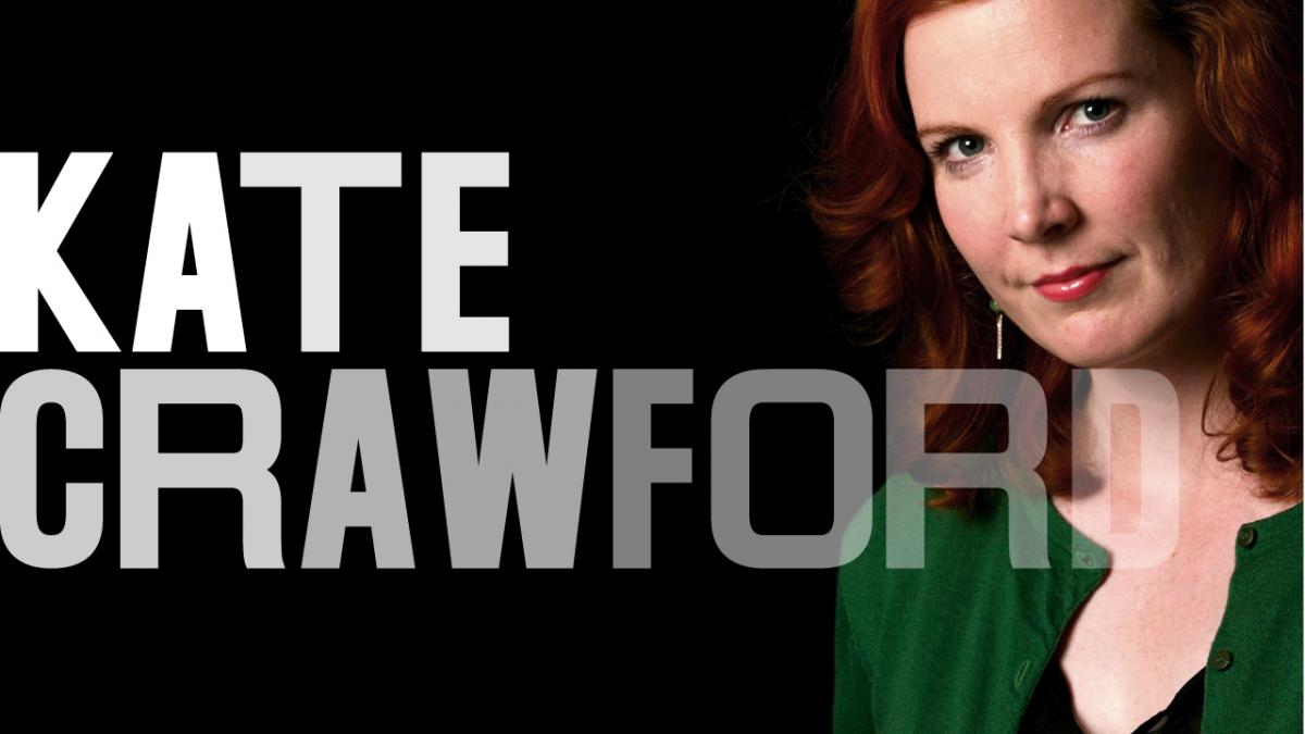 Kate Crawford portrait